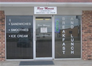Sign Werks Leonard TX window Graphics